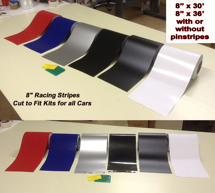 vinyl racing stripes automobile